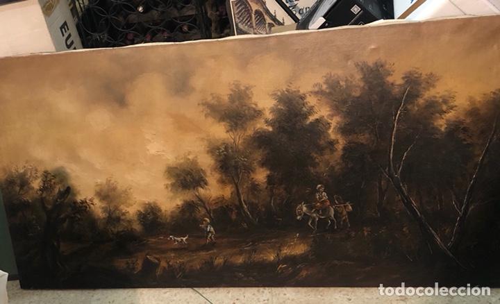 BONITO ÓLEO SOBRE LIENZO FIRMADO, GRAN TAMAÑO (Arte - Pintura - Pintura al Óleo Contemporánea )