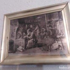 Arte: INTERESANTE CUADRO EN CHAPA. Lote 198090860