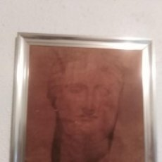 Arte: INTERESANTE CUADRO PINTADO CREO QUE CARBONCILLO. Lote 198096560