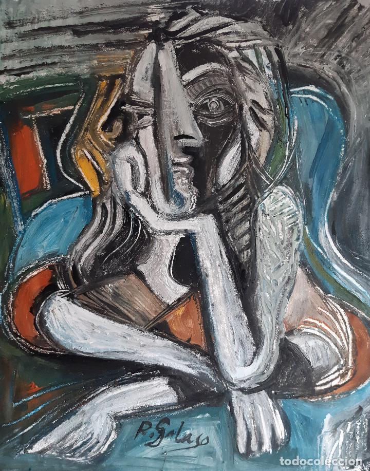 PINTURA SOBRE TELA,SIN BASTIDOR (Arte - Pintura - Pintura al Óleo Contemporánea )