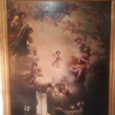 Arte: APARICIÓN DEL NIÑO A SAN ANTONIO. Lote 198152893
