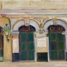 Arte: VISTA DE LA HABANA VIEJA: RINCON MODERNISTA. Lote 198335492