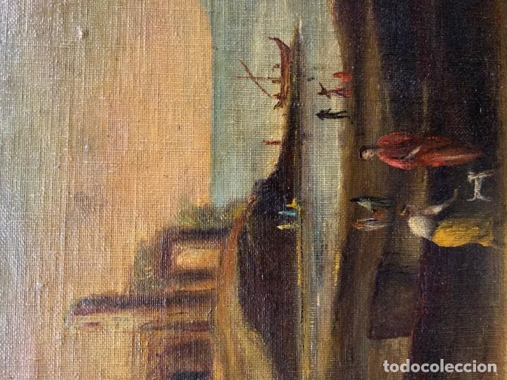Arte: PAISAJE CON RUINAS, ESC. ROMANTICA ESPAÑOLA - Foto 6 - 198337016