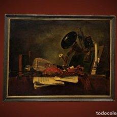 Arte: - LES ATTRIBUTS DE LA MUSIQUE (D'APRÈS JEAN SIMÉON CHARDIN). Lote 198337981