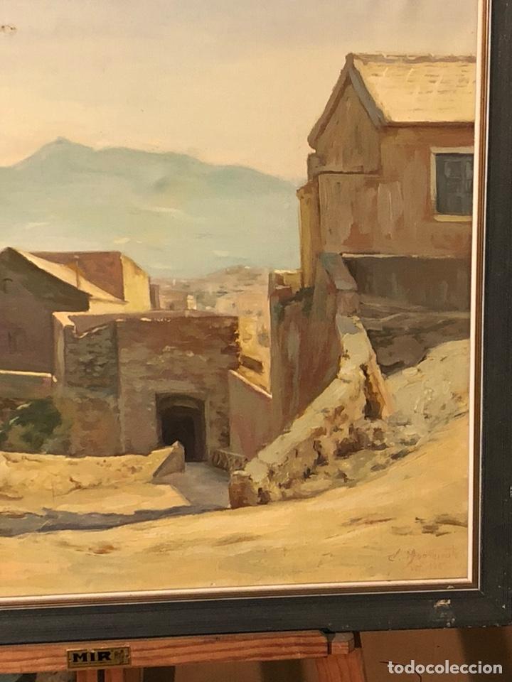 Arte: Bonito óleo sobre lienzo firmado - Foto 4 - 198363858