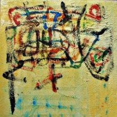 Arte: ABSTRACTO ( FASHION DECORATION ) MIXTA SOBRE LIENZO ( R.CIMBRÓN ) AÑO 2014. Lote 198514946