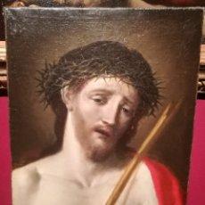 Arte: ESPECTACULAR ECCE HOMO. ESCUELA ITALIANA DEL S.XVII. Lote 198745082