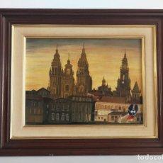 Arte: CATEDRAL DE SANTIAGO DE COMPOSTELA POR RIVEIRO XACOBEO 1993. Lote 198749500