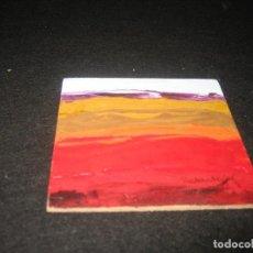 Arte: MINI OLEO SOBRE TABLERO DE REDONDO. Lote 198771480
