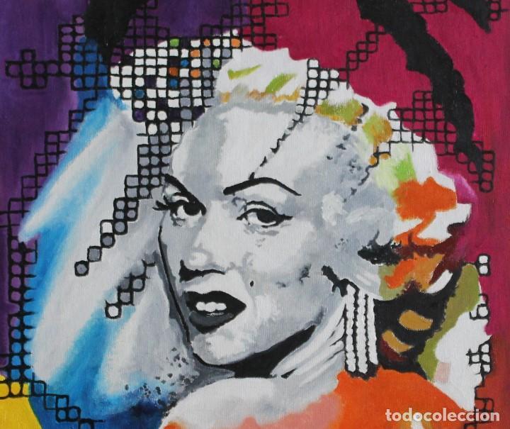 Arte: Marilyn en color obra de Gilaberte - Foto 2 - 198810877