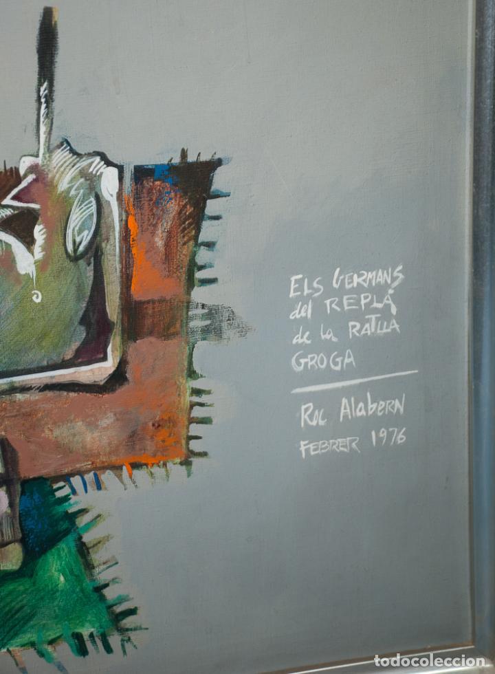Arte: GRAN CUADRO DEL PINTOR ROC ALABERN, 152 X 95 - Foto 3 - 198899730