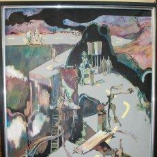 Arte: GRAN CUADRO DEL PINTOR ROC ALABERN, 152 X 95. Lote 198899730