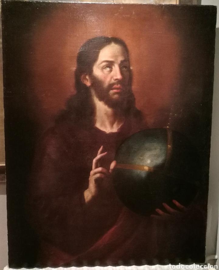 EL SALVADOR. ATRIBUIDO A CRISTOBAL RAMIREZ (1616?-44) (Arte - Pintura - Pintura al Óleo Antigua siglo XVII)