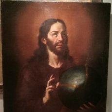 Arte: EL SALVADOR. ATRIBUIDO A CRISTOBAL RAMIREZ (1616?-44). Lote 199048763