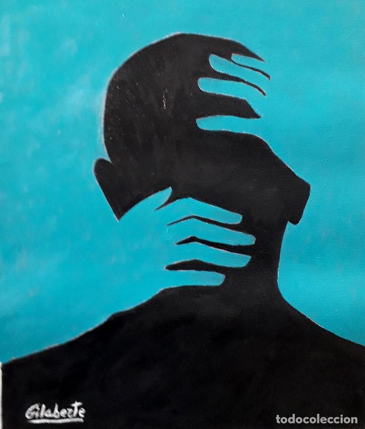 ABRAZO OBRA DE GILABERTE (Arte - Pintura - Pintura al Óleo Contemporánea )