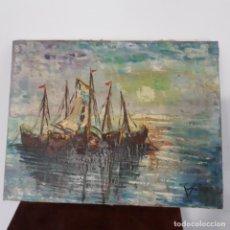 Arte: PINTURA AL OLEO FIRMADA MONZO AÑOS 70. Lote 199154617