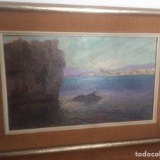 Arte: OLEO SOBRE TABLA PINTOR VALENCIANO VICENTE BENITO BOTELLA. Lote 199220045