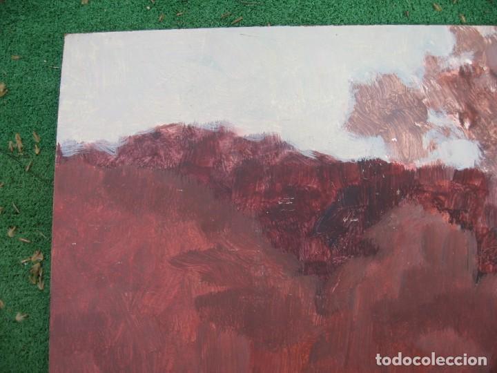 Arte: ACUARELA SOBRE TABLERO PASEANDO POR BOSQUE - Foto 2 - 199264560