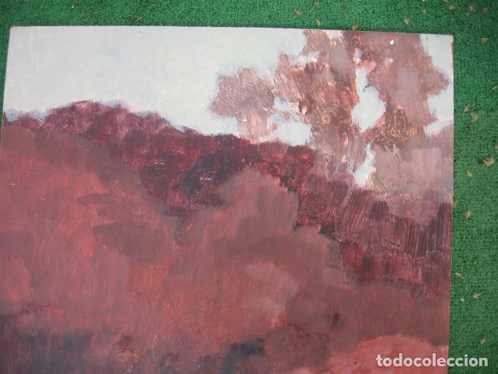 Arte: ACUARELA SOBRE TABLERO PASEANDO POR BOSQUE - Foto 3 - 199264560