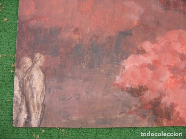Arte: ACUARELA SOBRE TABLERO PASEANDO POR BOSQUE - Foto 4 - 199264560