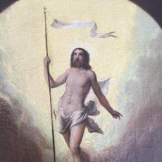 Arte: ÓLEO SOBRE LIENZO RESURRECCIÓN DE JESUCRISTO. ESCUELA ITALIANA SIGLO XVII.. Lote 199328201