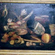 Arte: MAGNIFICO BODEGÓN SIGLO XVII.. Lote 199339331