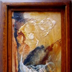 Arte: ABSTRACTO MATÉRICO R.CIMBRÓN. FOSIL (2008):. Lote 199472307