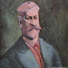 Arte: SIGMUND FREUD POR HERMENEGILDO SABAT ( URUGUAY 1933 - ARGENTINA 2018). Lote 199511012