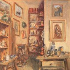 Art: VICENTE PASTOR CALPENA (1918-1993). ÓLEO SOBRE LIENZO. Lote 199723463
