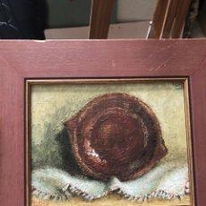 Arte: BONITO ÓLEO SOBRE TABLILLA FIRMADO. Lote 199801483