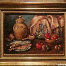 Arte: NATURALEZA MUERTA POR ARTUR CARBONELL (1906-73). Lote 199813508