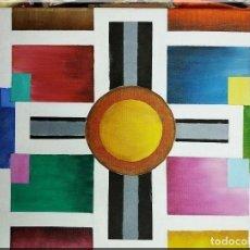 Arte: OLEO SOBRE LIENZO, UNIVERSO GEOMÉTRICO . Lote 199825297