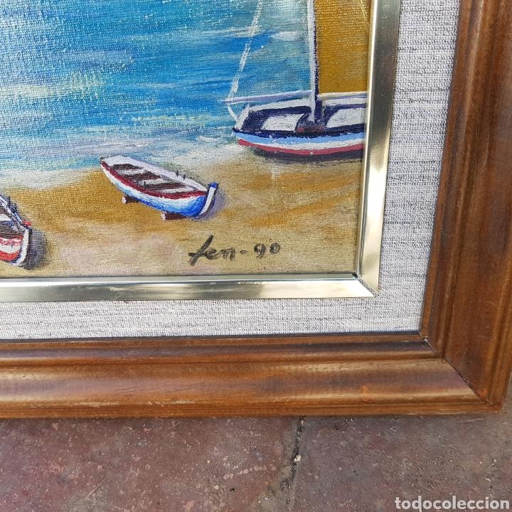Arte: ÓLEO FIRMADO - Foto 3 - 199837122