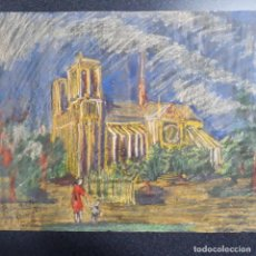 Arte: PASTEL ,PINTURA FIRMADA JOSE GARCIA TORRES. Lote 199867391