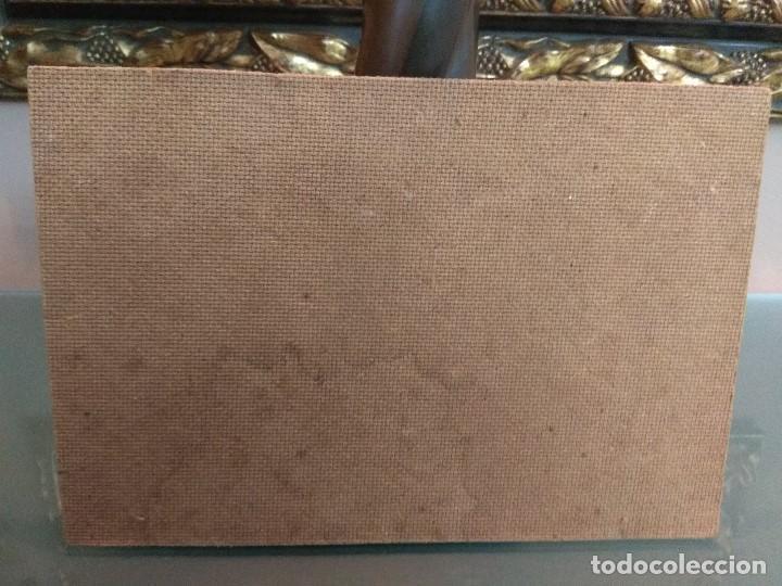 Arte: CUADRO OLEO SOBRE TABLA ESCUELA INGLESA ANTIGUO FIRMADO CON MARCO DORADO MUY IMPORTANTE - Foto 10 - 199908860