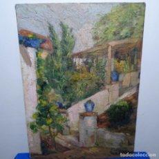 Arte: ÓLEO SOBRE TABLEX FIRMADO J. SALVADOR.BUEN TRAZO.. Lote 199909163