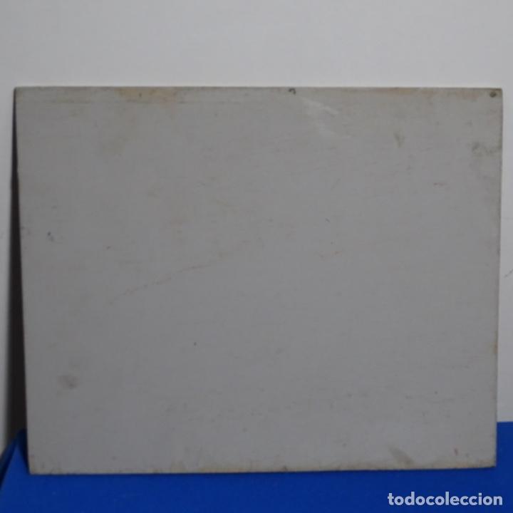 Arte: Excelente óleo anónimo sobre tabla circulo mir.buen trazo.maestro. - Foto 17 - 199977837