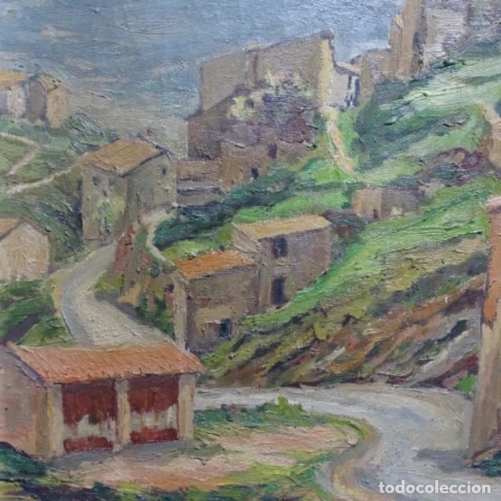 Arte: Óleo sobre tela.francesc macia i graus.paisaje de Suria.1978. - Foto 4 - 200074268