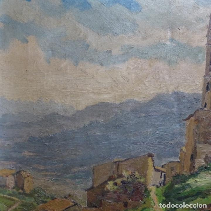 Arte: Óleo sobre tela.francesc macia i graus.paisaje de Suria.1978. - Foto 5 - 200074268