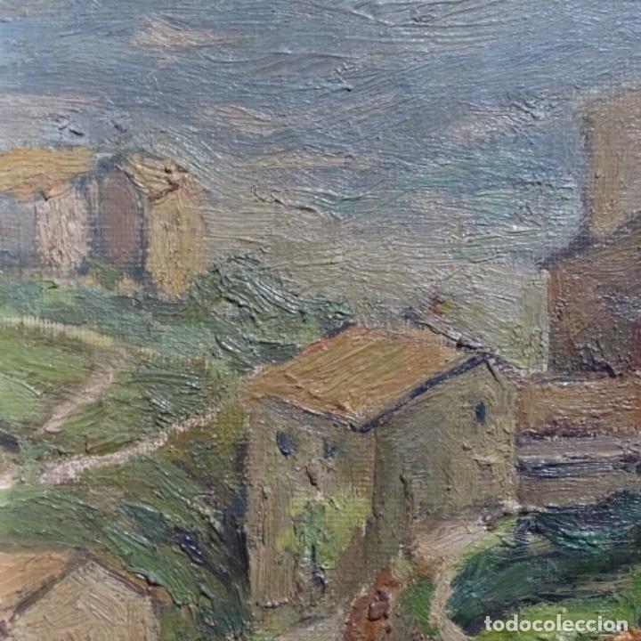 Arte: Óleo sobre tela.francesc macia i graus.paisaje de Suria.1978. - Foto 11 - 200074268