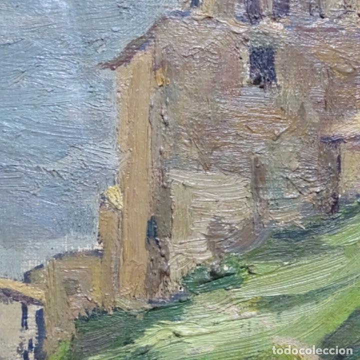 Arte: Óleo sobre tela.francesc macia i graus.paisaje de Suria.1978. - Foto 17 - 200074268