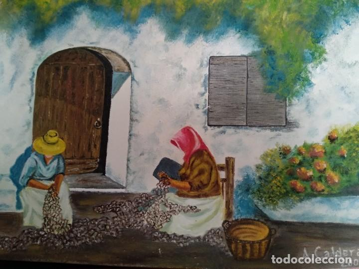 Arte: Antonio Caldera 2008 óleo sobre lienzo - Foto 3 - 200131611