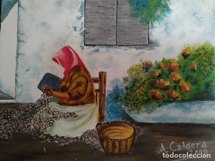 Arte: Antonio Caldera 2008 óleo sobre lienzo - Foto 5 - 200131611