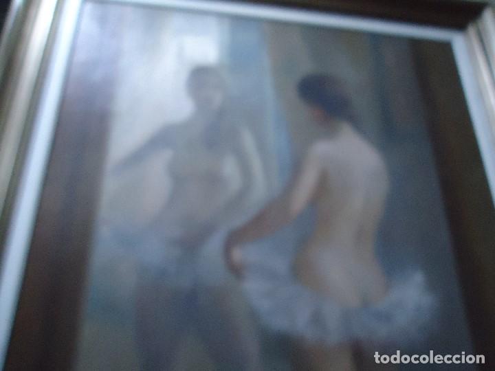 Arte: IMPRESIONANTE OBRA DEL PINTOR ALFREDO SALAZAR 150 X 120 cm. OLEO SOBRE LIENZO Afredo Salazar - Foto 3 - 200134203