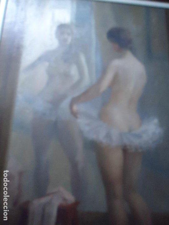 Arte: IMPRESIONANTE OBRA DEL PINTOR ALFREDO SALAZAR 150 X 120 cm. OLEO SOBRE LIENZO Afredo Salazar - Foto 4 - 200134203