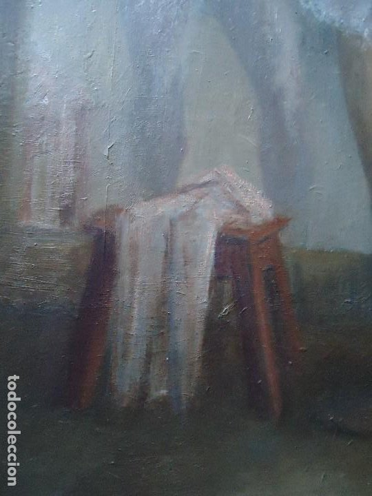 Arte: IMPRESIONANTE OBRA DEL PINTOR ALFREDO SALAZAR 150 X 120 cm. OLEO SOBRE LIENZO Afredo Salazar - Foto 5 - 200134203
