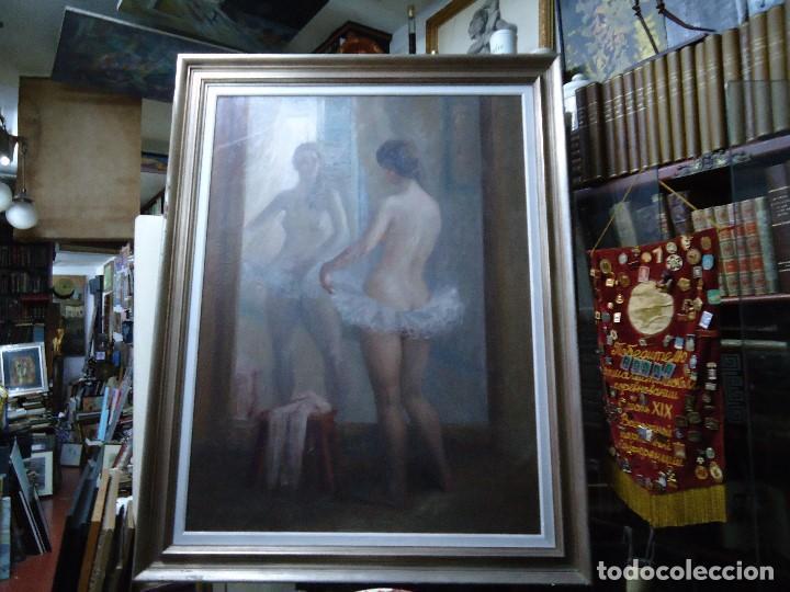 Arte: IMPRESIONANTE OBRA DEL PINTOR ALFREDO SALAZAR 150 X 120 cm. OLEO SOBRE LIENZO Afredo Salazar - Foto 11 - 200134203