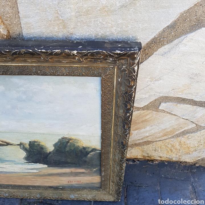 Arte: ÓLEO FIRMADO - Foto 5 - 200202575
