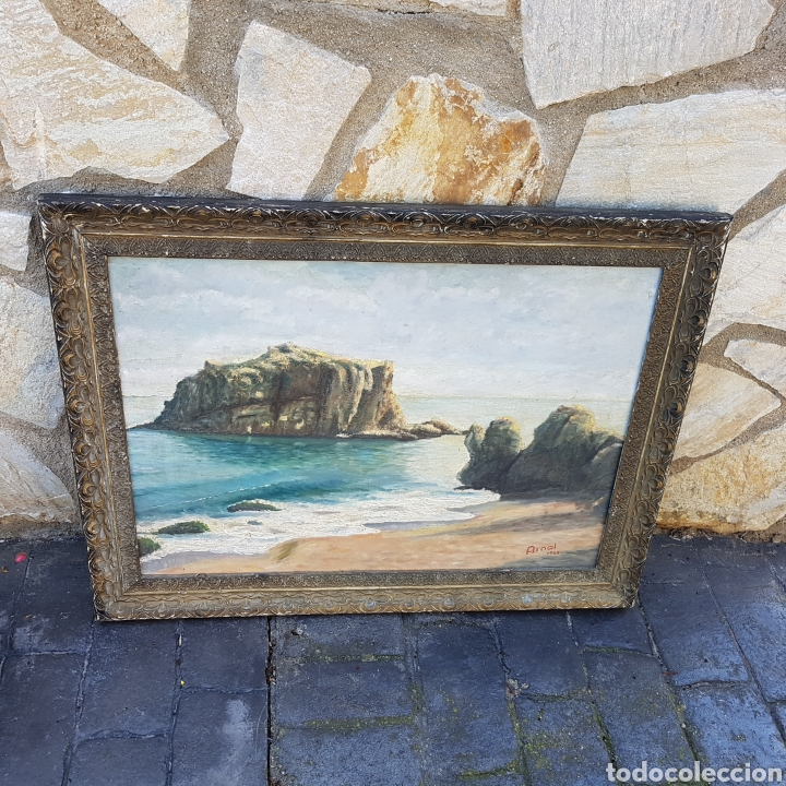 ÓLEO FIRMADO (Arte - Pintura - Pintura al Óleo Antigua sin fecha definida)