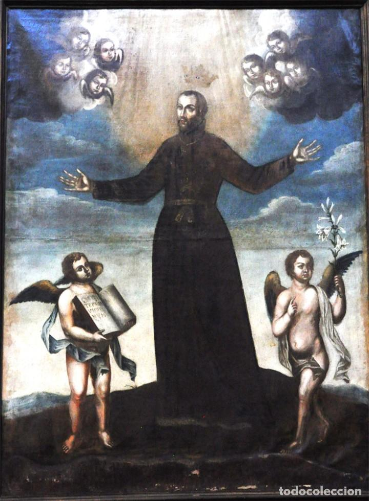 Arte: LA GLORIFICACIÓN DE SAN CAYETANO de Diego López, el Mudo discípulo oficial de Juan Carreño. - Foto 6 - 195056710